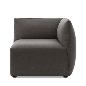 Moduł prawostronny do sofy VIVONITA Cube Dark Grey