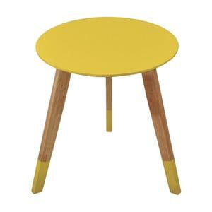 Żółty stolik Incidence Colorama