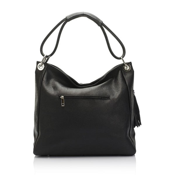 Czarna   torebka skórzana Lisa Minardi Herta