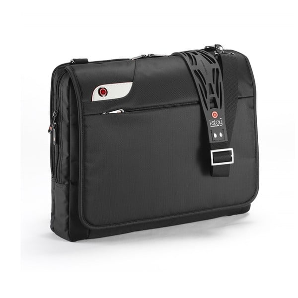 Torba na laptop i-stay Messenger, czarna