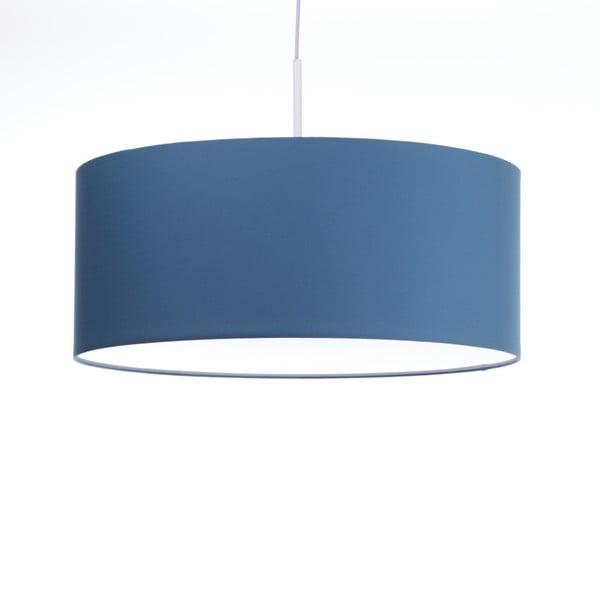 Niebieska lampa wisząca Artist, zmienna długość, Ø 60 cm