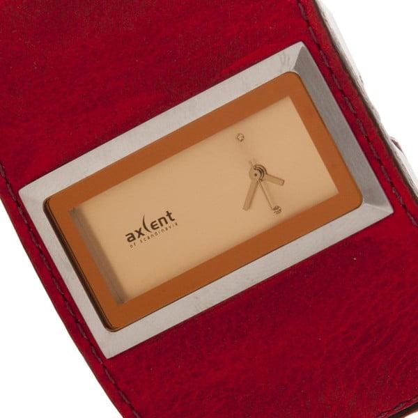 Skórzany zegarek damski Axcent X69911-738
