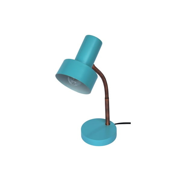 Niebieska lampa stołowa Red Cartel Maxwell