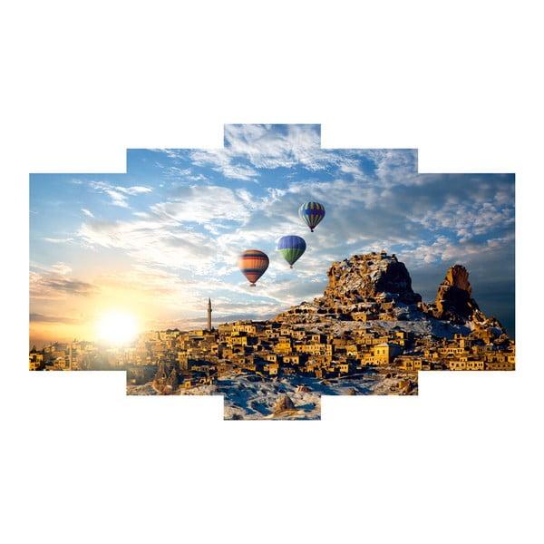 Pięcioczęściowy obraz Balloons