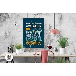 Plakat Vacation, A3