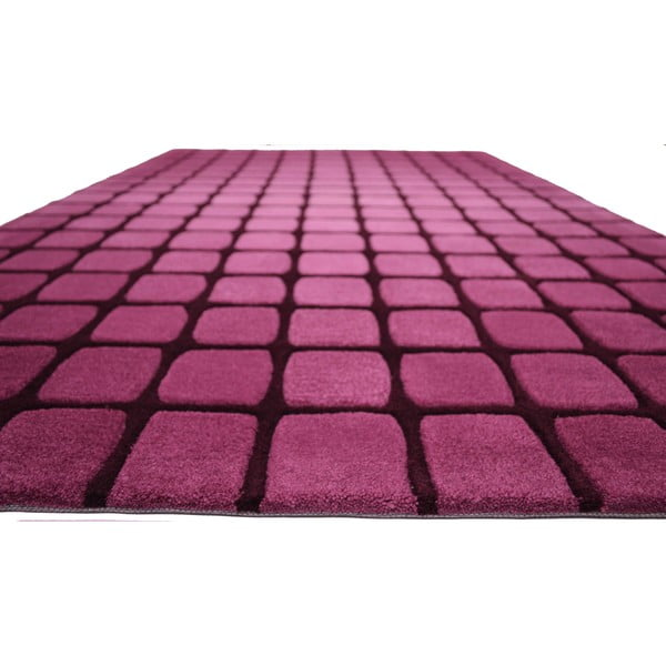 Dywan Casablanca Square 90x160 cm, różowy