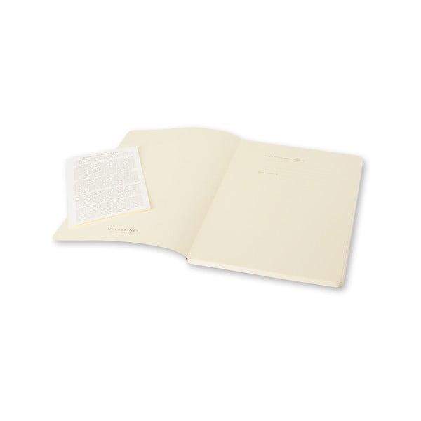 Zestaw 2 notesów  Moleskine Pink Ruled, w linie 13x21 cm