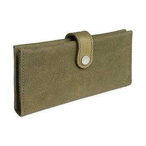 Zielony portfel skórzany Woox Magna Viridita