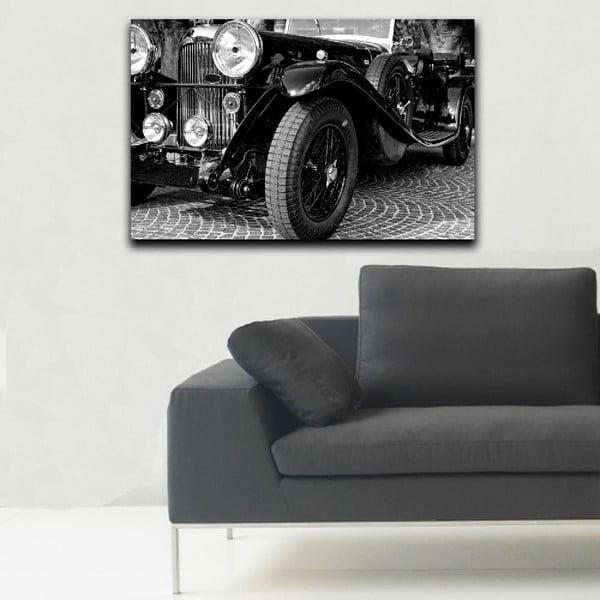 Obraz Black&White Vintage Car, 45x70 cm