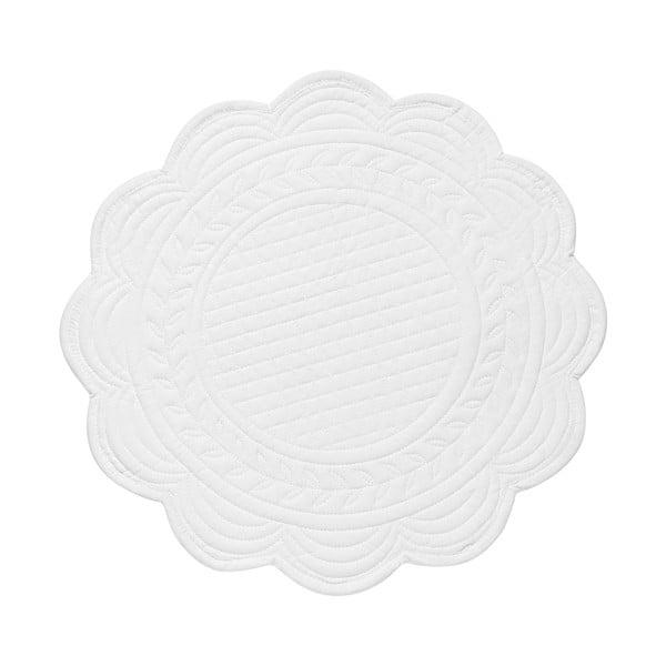 Zestaw 6 podkładek White, 30 cm