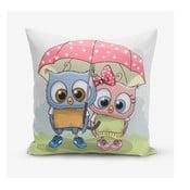 Poszewka na poduszkę z domieszką bawełny Minimalist Cushion Covers Umbrella Owls, 45x45 cm