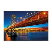 Fotoobraz Bay Bridge, 51x81 cm