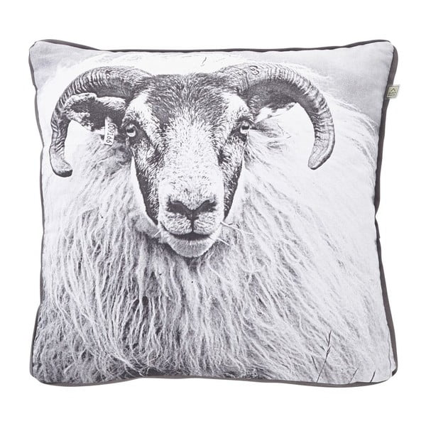 Poduszka Sheep Charcoal, 45x45 cm