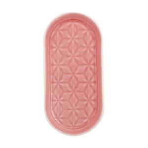 Różowa taca ceramiczna Kallia