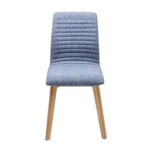 Niebieskie krzesło Kare Design Lara