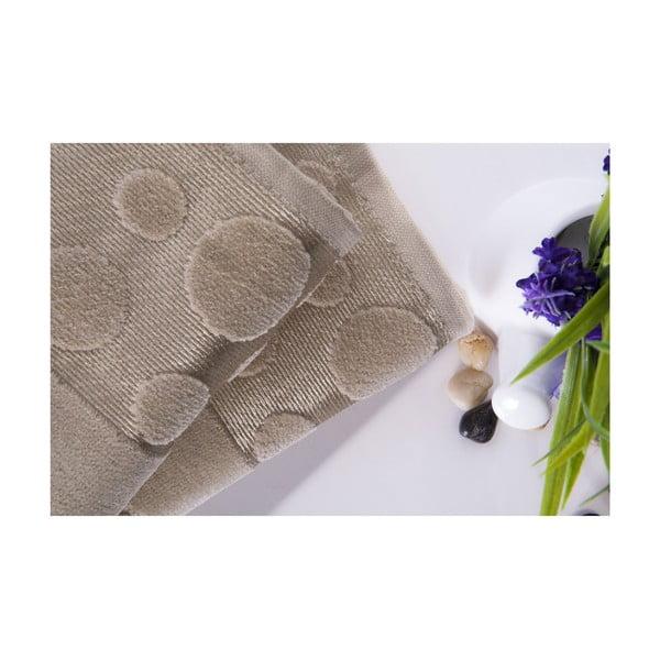 Zestaw 2 ręczników Tropical Beige, 50x90 cm