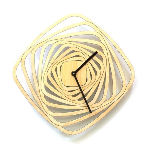 Zegar drewniany Whirl, 29 cm