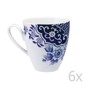Zestaw 6 porcelanowych kubków Willow Love Story, 420 ml