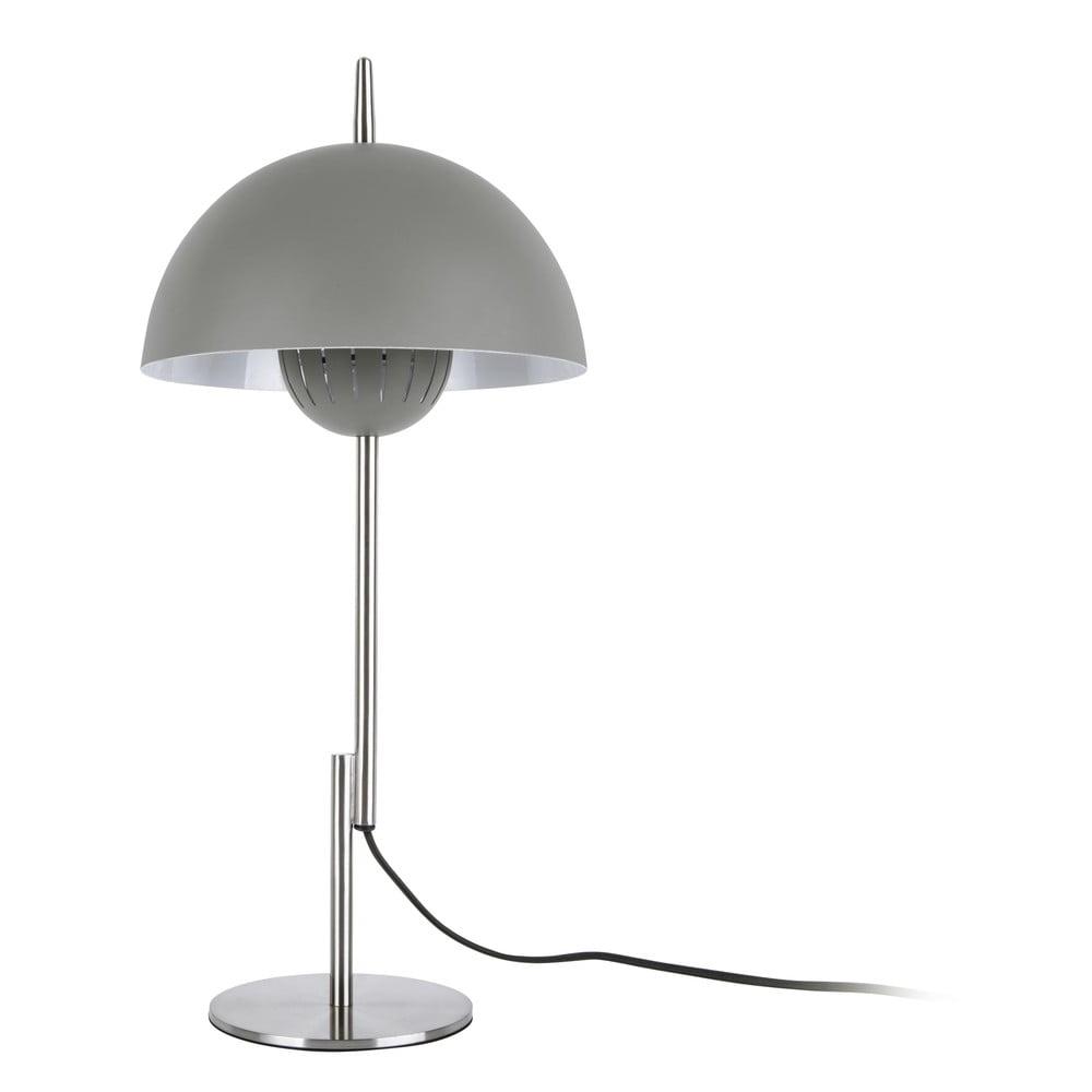 Ciemnoszara lampa stołowa Leitmotiv Sphere Top,ø25cm