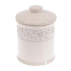 Ceramiczny pojemnik In White, 20 cm