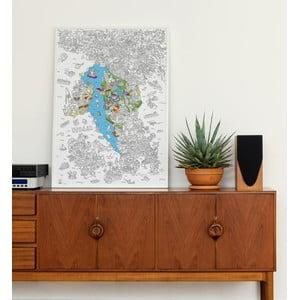 Kolorowanka Italie (70 x 100 cm)