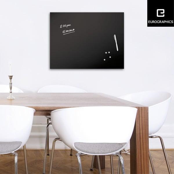 Tablica magnetyczna Eurographic Memo Black, 60x80 cm