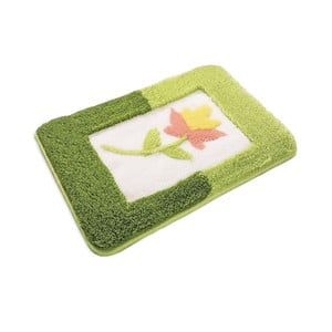 Zielony dywanik łazienkowy Anjelik, 50x60 cm