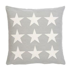 Poszewka na poduszkę Clayre Stars, 50x50 cm, szara