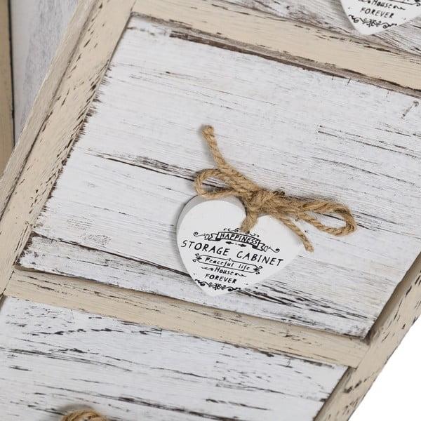 Komoda z szufladami Coeurs, 81x26 cm