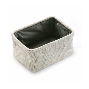 Koszyk Cream Knitted, 36x18 cm