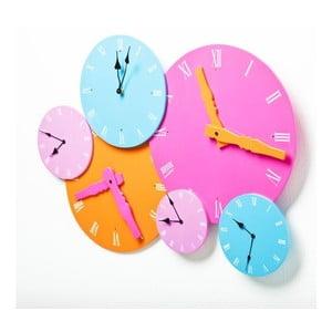 Zegar ścienny Colores Rosa