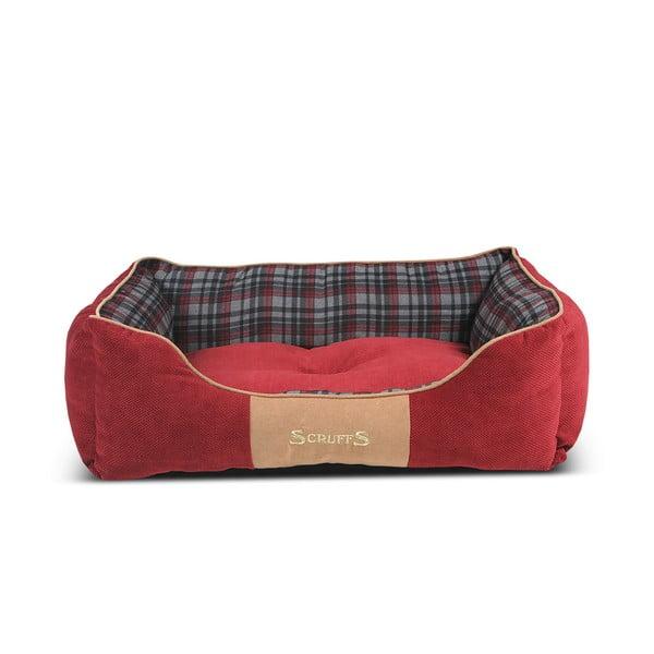 Legowisko dla psa Highland Bed 75x60 cm, czerwone