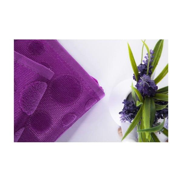 Zestaw 2 ręczników Tropical Plum Color, 70x140 i 50x90 cm