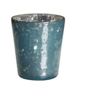 Świecznik Benito Blue, 7x7 cm
