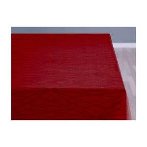 Czerwony obrus Södahl Complex, 140x180 cm