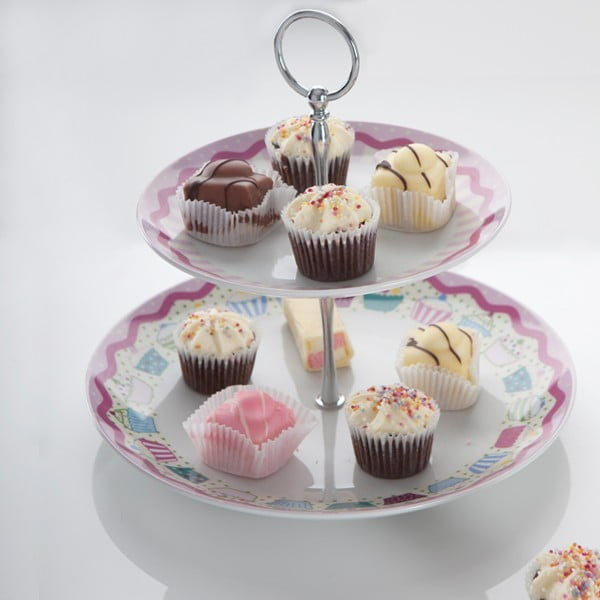 Dwupoziomowa patera Cup Cake Sweet