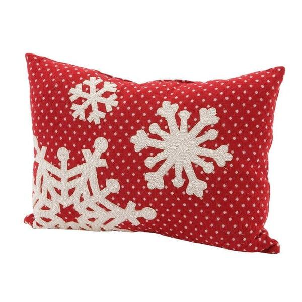Poduszka Snowflake, 45x33 cm