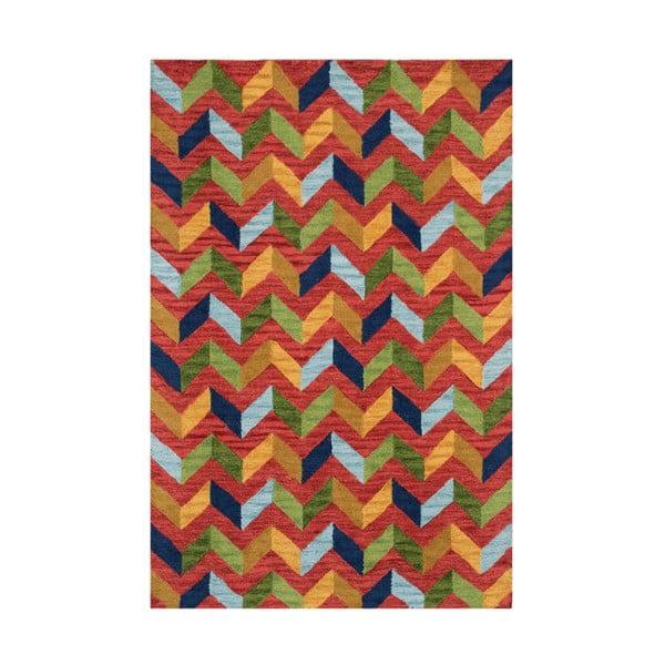 Czerwony dywan tuftowany ręcznie Bakero Wimbledon, 120x180 cm