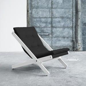 Fotel składany Karup Boogie White/Grey