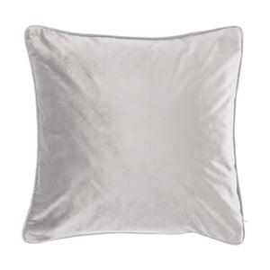 Jasnoszara poduszka Tiseco Home Studio Velvety, 45x45 cm