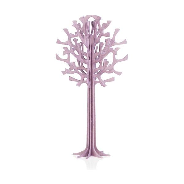 Składana pocztówka Lovi Tree Light Purple, 13.5 cm