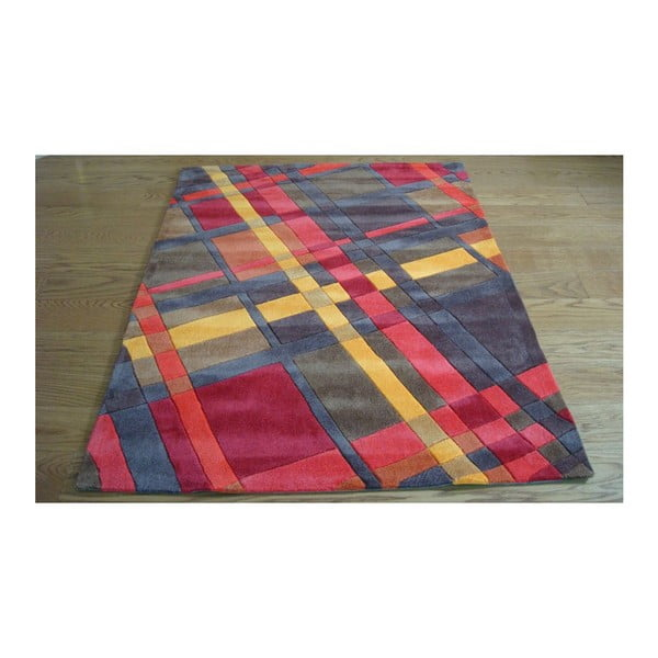 Dywan Plaid Orange, 120x170 cm