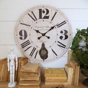 Zegar ścienny Orchidea Pendulum