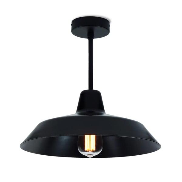 Czarna lampa wisząca Bulb Attack Cinco