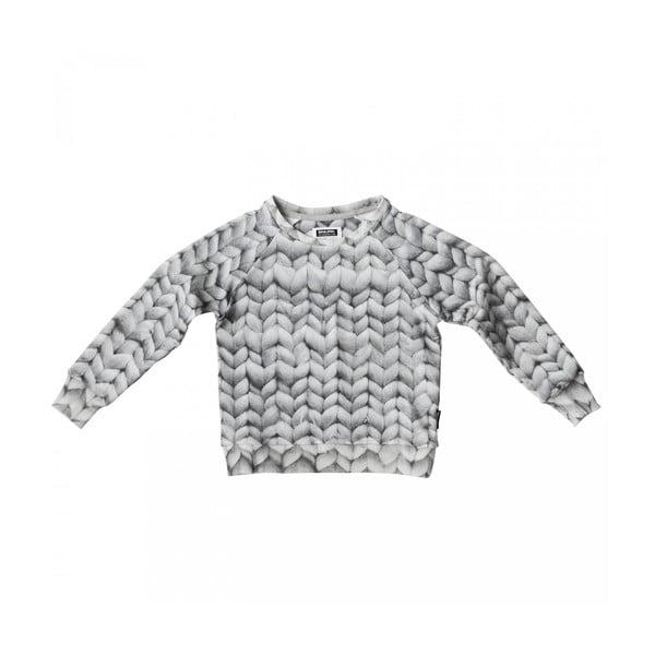 Szara bluza chłopięca Snurk Twirre, 140