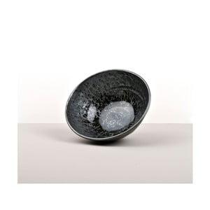 Czarna miska na makaron Made In Japan Black Pearl, ⌀ 20 cm
