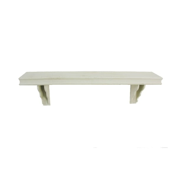 Półka Antic White, 100x16x28 cm