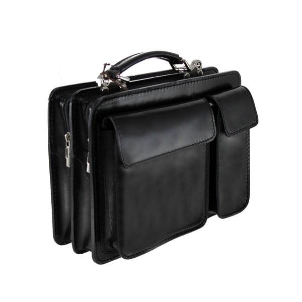 Skórzana torba Chianti, czarna