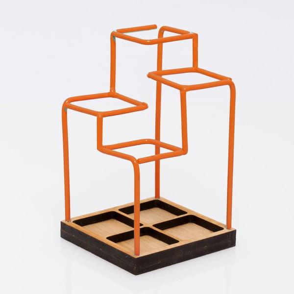 Przybornik na biurko Desk Tidy, pomarańczowy