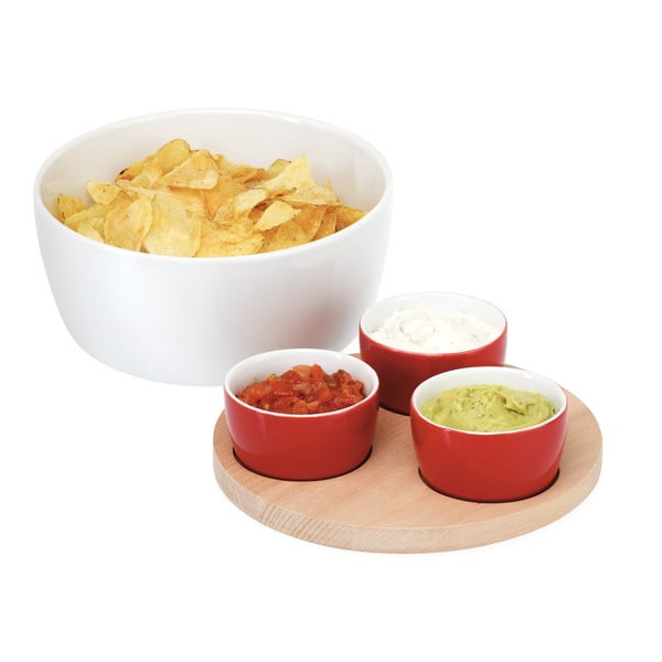 Zestaw do chipsów i dipów Yummy